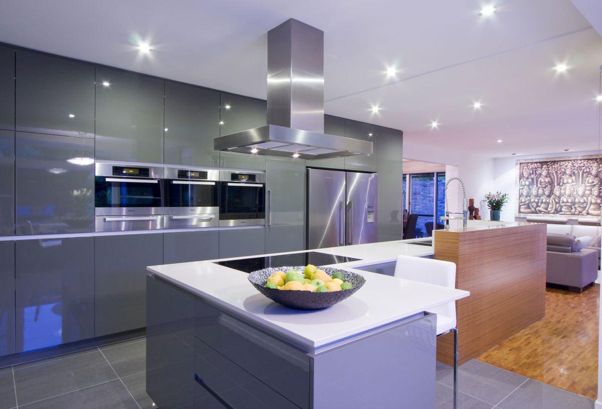 Дизайн кухни с гостиной 2017-2018 современные идеи на 30 м